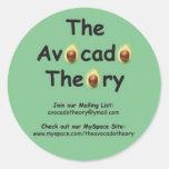 The Avocado Theory sticker #1