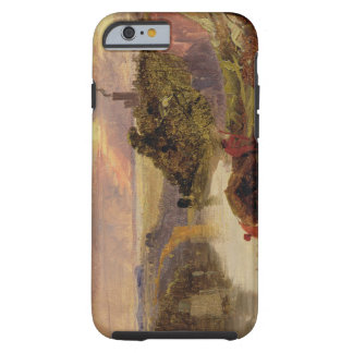 The Avon Gorge at Sunset (oil on paper) iPhone 6 Case