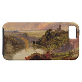 The Avon Gorge at Sunset (oil on paper) iPhone 5 Cover