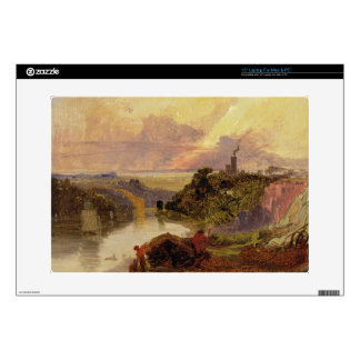 The Avon Gorge at Sunset (oil on paper) Laptop Skins