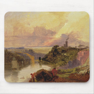 The Avon Gorge at Sunset (oil on paper) Mouse Pad