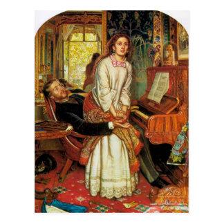 The Awakening Conscience by William Holman Hunt Postcard
