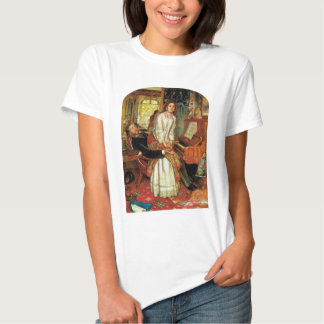 The Awakening Conscience by William Holman Hunt T-Shirt