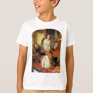 The Awakening Conscience by William Holman Hunt T-Shirt