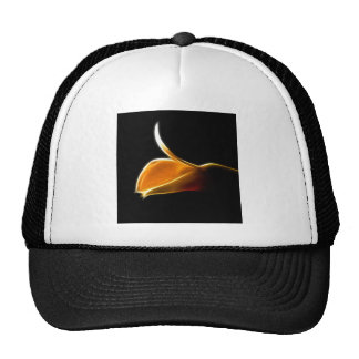 The Awakening of a Pure White Orchid Trucker Hat