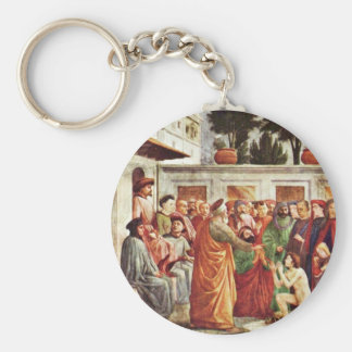 The Awakening Of The Son Of Theophilus Of Antioch Keychain