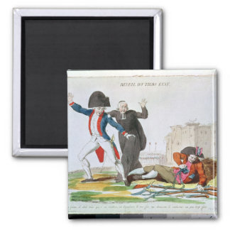 The Awakening of the Third Estate, July 1789 2 Inch Square Magnet