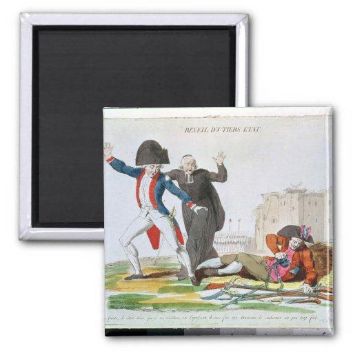 The Awakening of the Third Estate, July 1789 Fridge Magnets