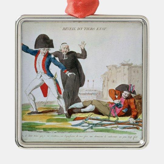 The Awakening of the Third Estate, July 1789 Metal Ornament