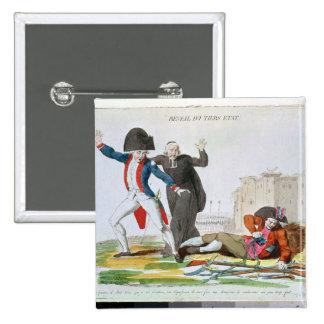 The Awakening of the Third Estate, July 1789 Pinback Button