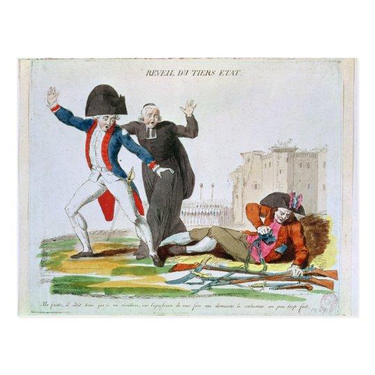 The Awakening of the Third Estate, July 1789 Postcard