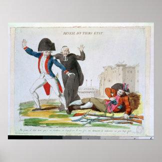 The Awakening of the Third Estate, July 1789 Poster