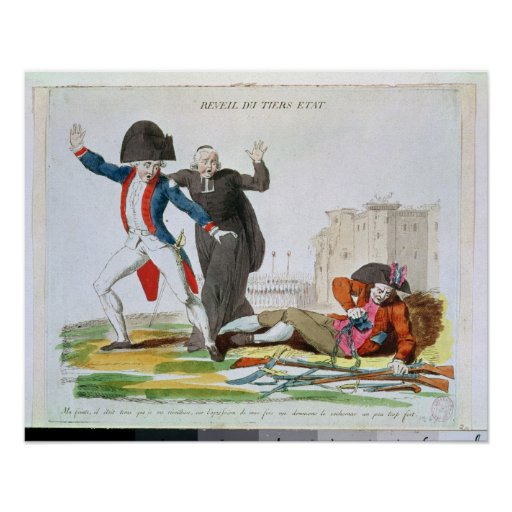 The Awakening of the Third Estate, July 1789 Posters