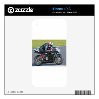 The awesome 848 skin for the iPhone 4