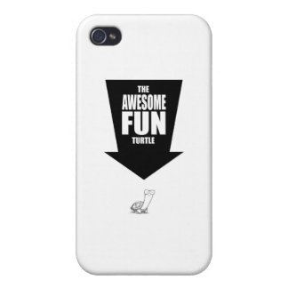 The Awesome Fun Turtle iPhone 4 Case