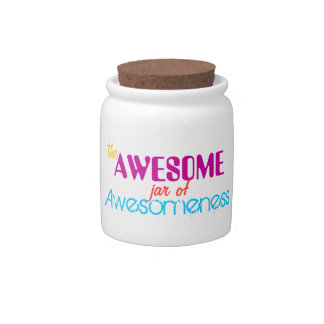 The Awesome Jar of Awesomeness Candy Dish