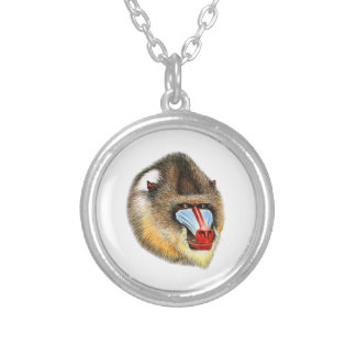 THE AWESOME MANDRILL PERSONALIZED NECKLACE