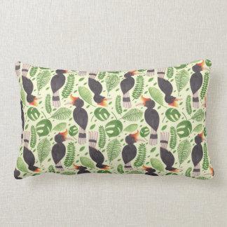 The Awesome Tropical Bird Lumbar Pillow