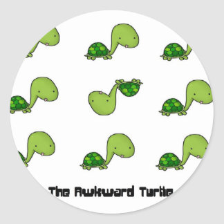 The Awkward Turtle Stickers