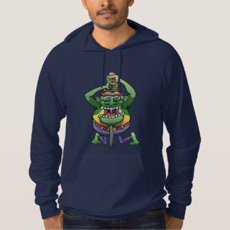 The Awkwardness of the Sword Swallower Hoodie