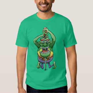The Awkwardness of the Sword Swallower T-shirt