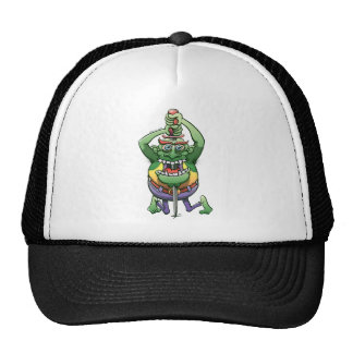 The Awkwardness of the Sword Swallower Trucker Hat