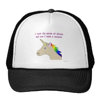 The axiom of choice makes unicorns mesh hats