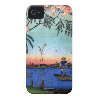 The Ayase River and Kanegafuchi (綾瀬川鐘か淵) Case-Mate iPhone 4 Case