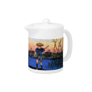 The Ayase River and Kanegafuchi (綾瀬川鐘か淵) Teapot