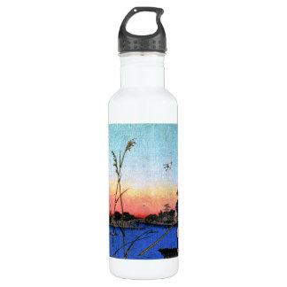 The Ayase River and Kanegafuchi (綾瀬川鐘か淵) Water Bottle