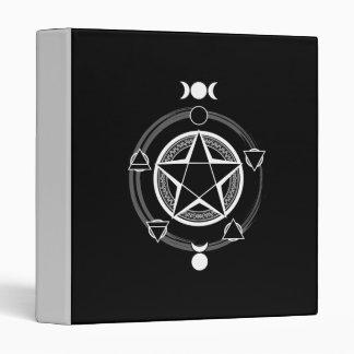 The Azodnem (Dark) Pentacle Binder
