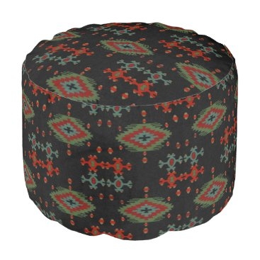 Aztec Themed The Aztec Pouf