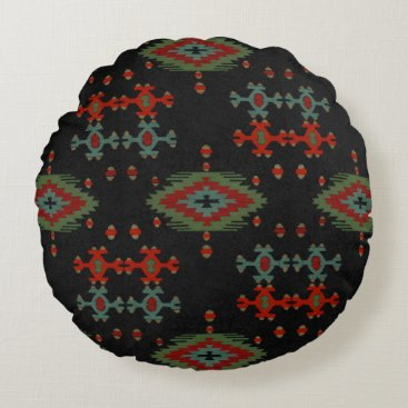 Aztec Themed The Aztec Round Pillow