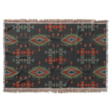Aztec Themed The Aztec Throw Blanket