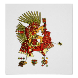 The Aztecs Print
