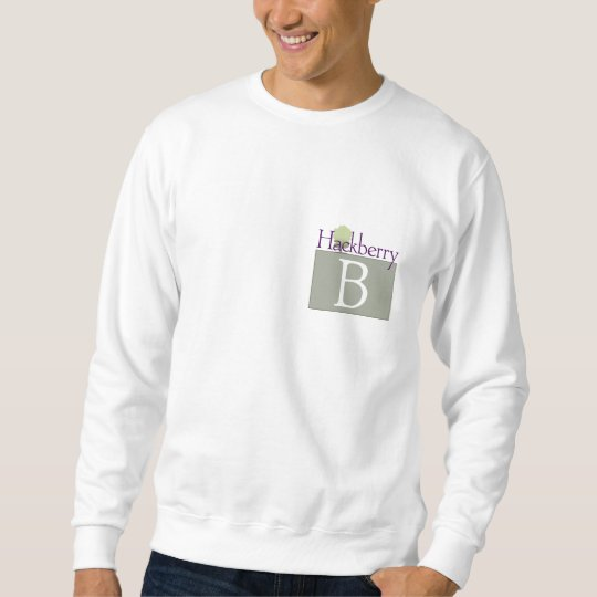 The B Letter Sweater