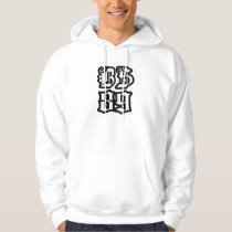 "The ""B.S 89"" hoodie for men"