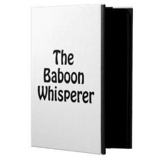the baboon whisperer iPad air case