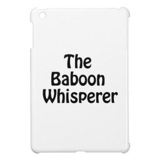the baboon whisperer iPad mini cases