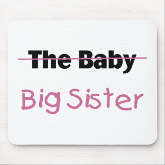 The Baby  Big Sister Mouse Pad