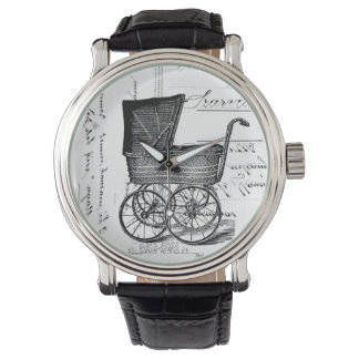 The Baby Carriage Wristwatch