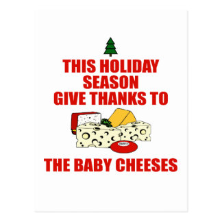 The Baby Cheeses Postcard