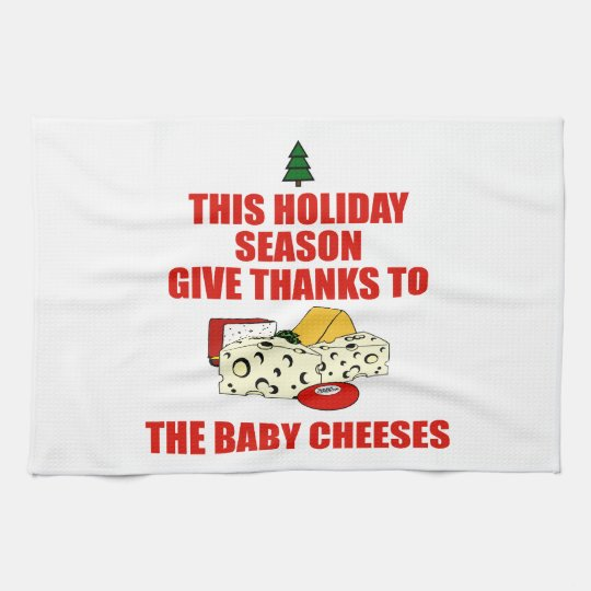 The Baby Cheeses Towel