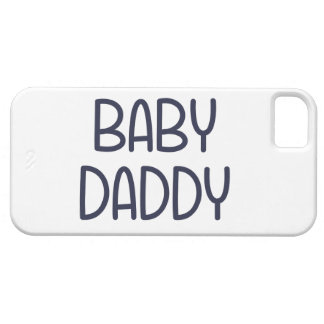 The Baby Mama Baby Daddy (i.e. father) iPhone SE/5/5s Case