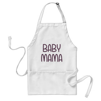 The Baby Mama (i.e. mother) Adult Apron
