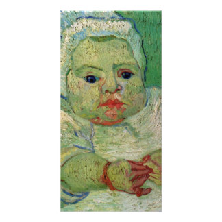 The Baby Marcelle Roulin by Vincent van Gogh Card