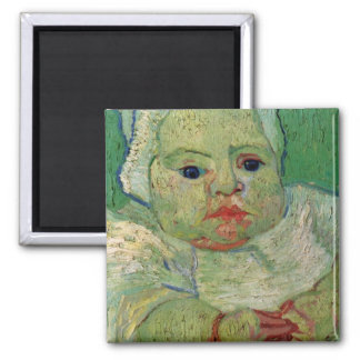 The Baby Marcelle Roulin by Vincent van Gogh Magnet