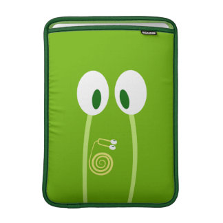 The baby snail rises by the papa antennas MacBook air sleeves