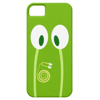 The baby snail rises by the papa antennas iPhone SE/5/5s case