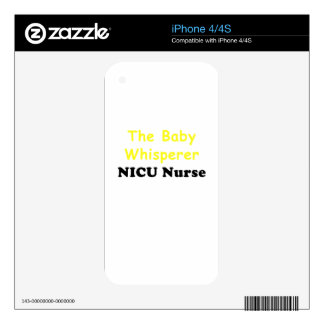 The Baby Whisperer Nicu Nurse Decals For The iPhone 4S